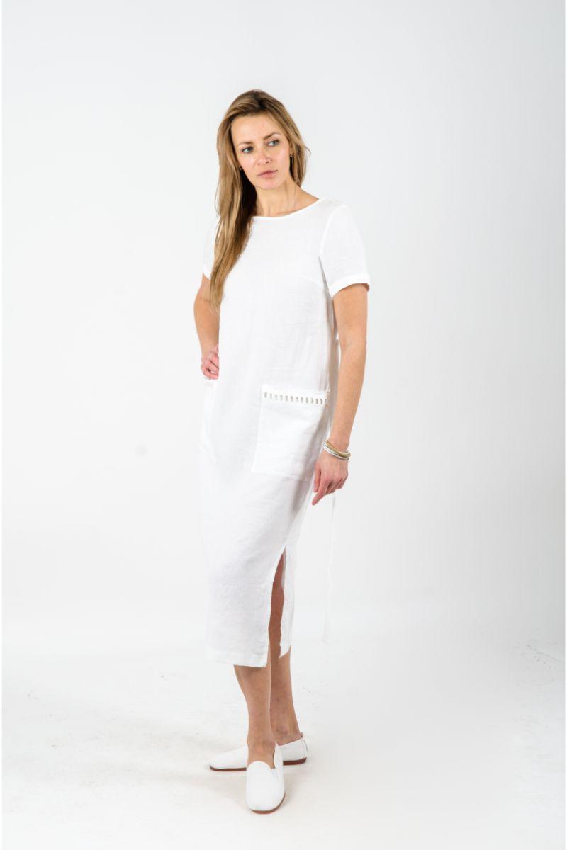 Balta moteriška suknelė