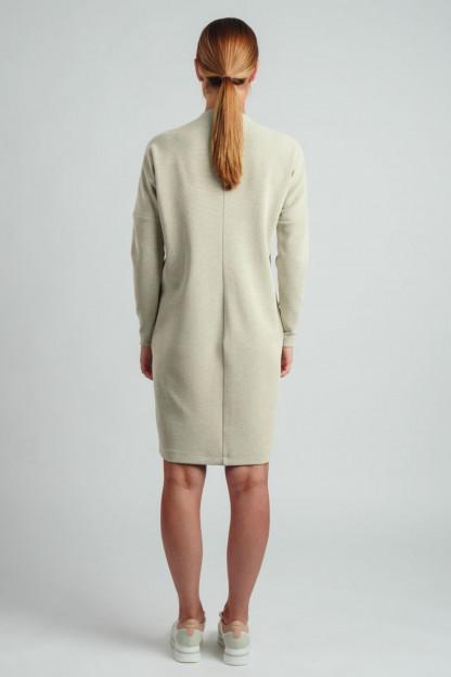 Moteriška suknelė ilgomis rankovėmis internetu 957209-121| Omniteksas.lt