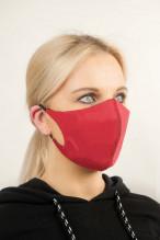3vnt Daugkartinė apsauga veidui su SilverPlus apdaila (sp. raudona)