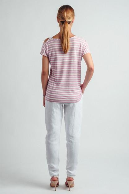 Linen blouse online O20SS2116752-531 Omniteksas.lt
