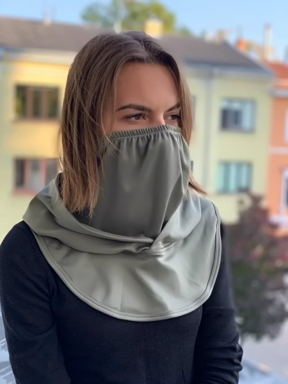 Hood and face protection