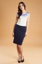 Moteriškas siaurėjančios formos sijonas